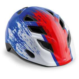 MET Elfo Casque Enfant, blue red hero